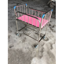 Good Price Folding Stainless Steel New Born Baby Bed